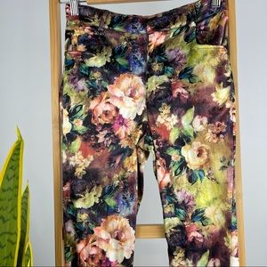 Princess Polly Floral Pants - Size 6